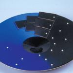 Emaux modernes - Alain Duban, Coupe, 1991, émail peint sur cuivre, don Porcelaines Bernardaud