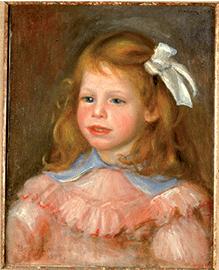 Tableaux Renoir, Le portrait de Jean, 1899, huile sur toile, don de l'artiste