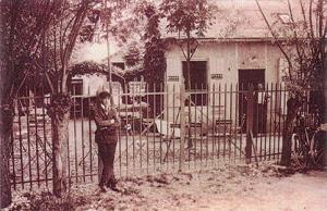 Année 1920 – « le comptoir des maraîchers » - La Courcillière